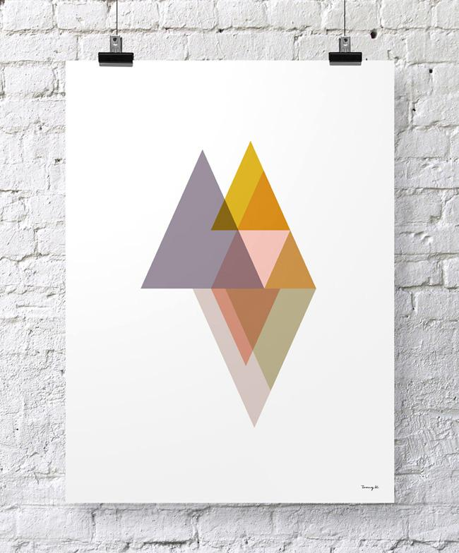 """Triangles II"" - Tomy K"