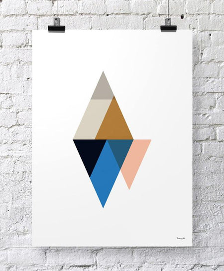 """Triangles III"" - Tomy K"