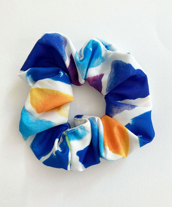 """Triangles"" scrunchie"