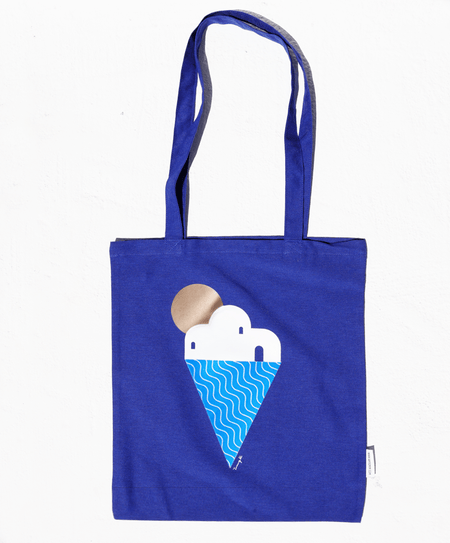 """Yummy Greece"" tote bag - Tomy K"