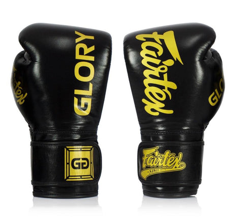 Fairtex X Glory Competition Gloves – Velcro - BGVG1