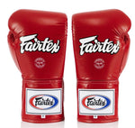 Fairtex Pro Competition Gloves - Locked Thumb - BGL6-LEATHER