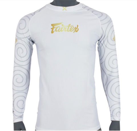 """Hanuman"" Fairtex Pro Long Sleeves Rashguard - RG7"