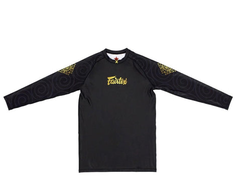 """Ninlapat"" Fairtex Pro Long Sleeves Rashguard - RG6"