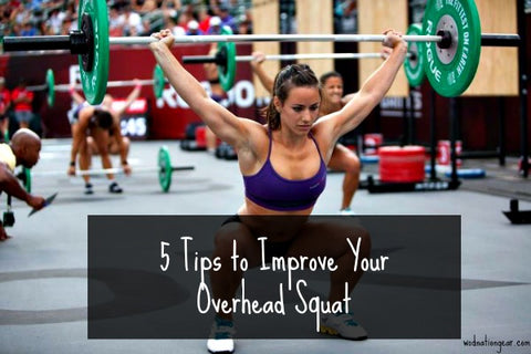5 Tips to Improve Your Overhead Squat