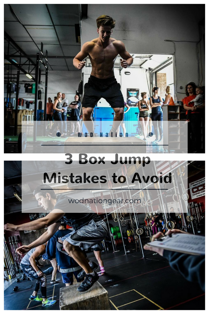 3 Box Jump Mistakes to Avoid #crossfit