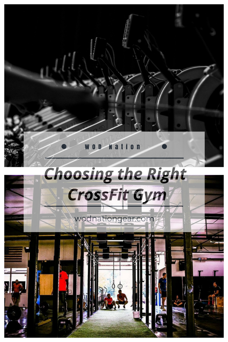 Choosing the Right CrossFit Gym #crossfit