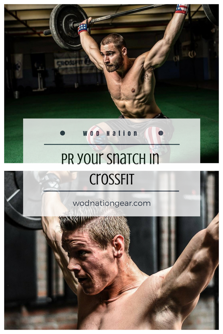 PR your Snatch in CrossFit #crossfit