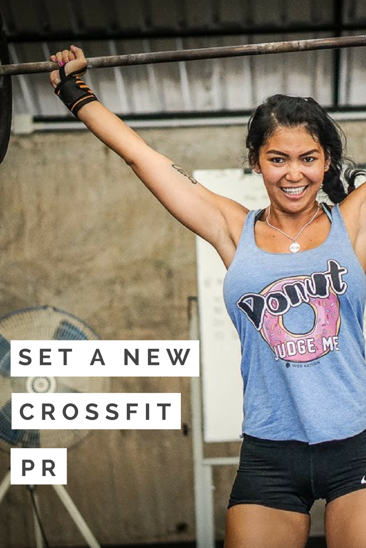 Set a New CrossFit PR #crossfit