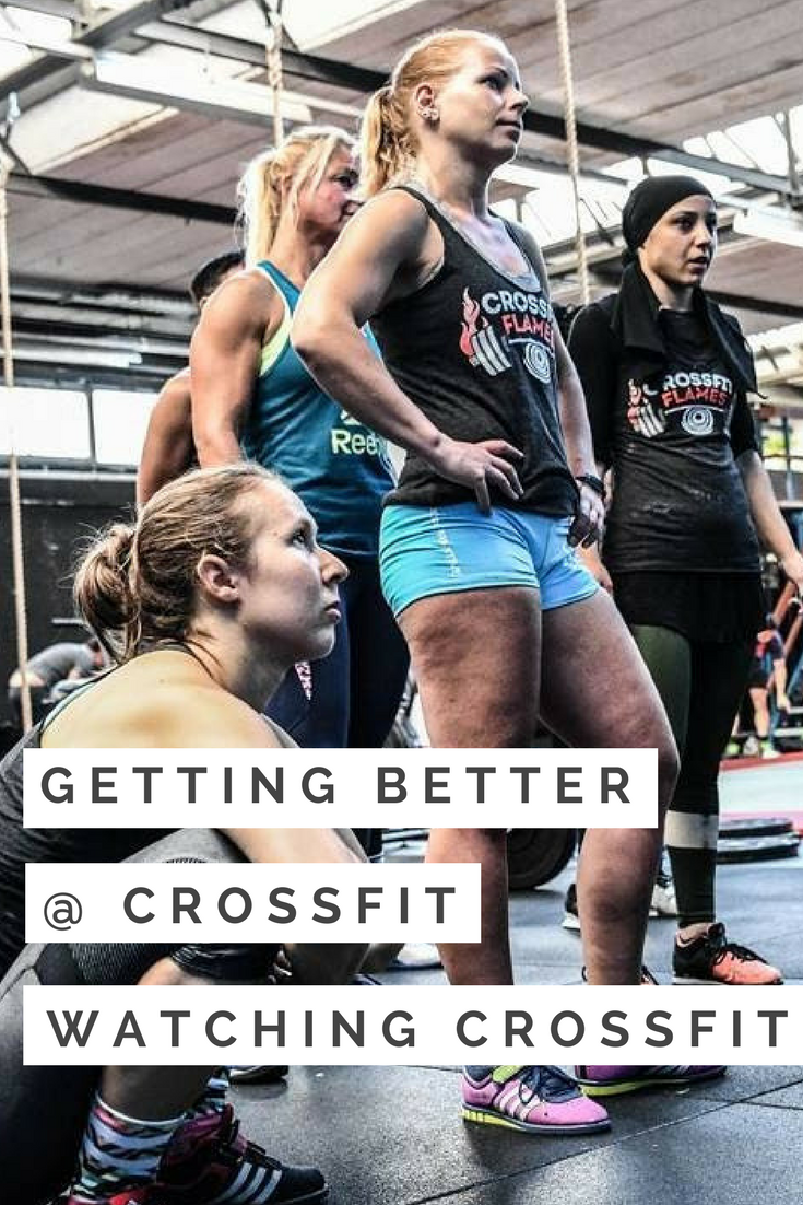 Getting better @ CrossFit = Watching CrossFit #crossfit