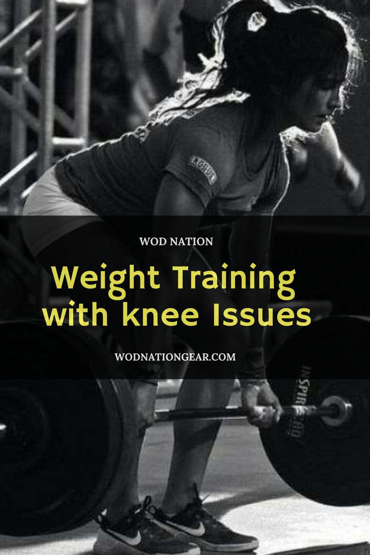 Weight Training with Knee Issues