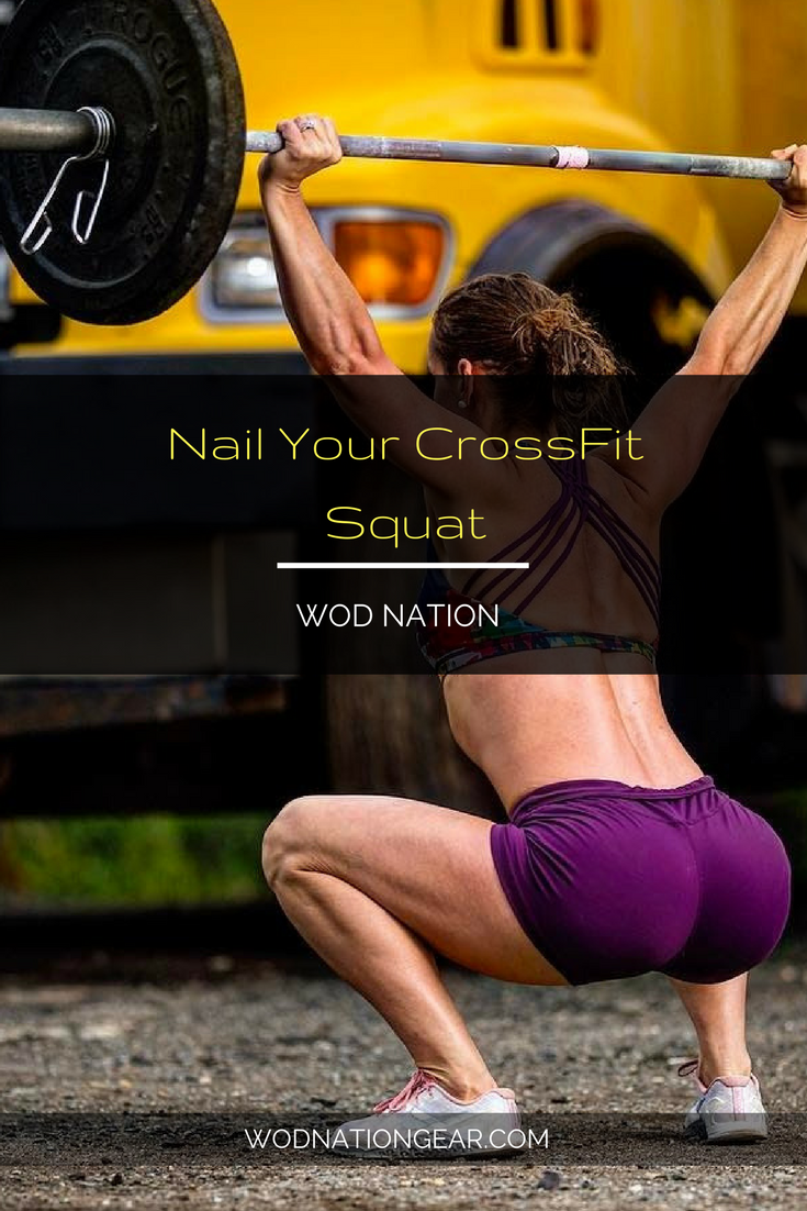 Nail Your CrossFit Squat #crossfit