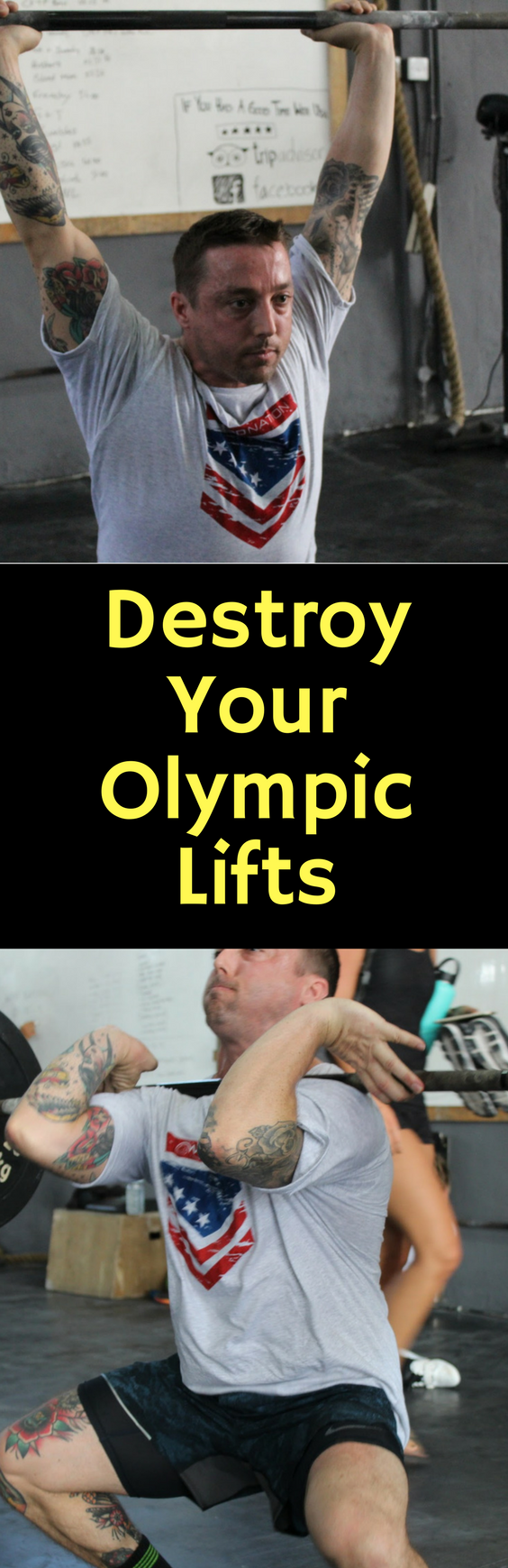 Destroy Your Olympic Lifts #crossfit