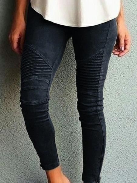 40% OFF Casual Slim Skinny Elastic Pants