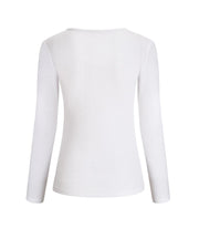 Long Sleeve Zipper Design Blouse
