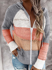 Beach Bonfire Zipper Jacket