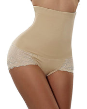 Lace Body Shaper Tummy Control Panty Slim Waist Trainer