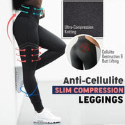 New Anti-Cellulite Compression Slim Leggings - Melonpook