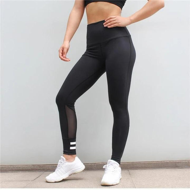 High Waist Future Push Up Mesh Legging - Melonpook