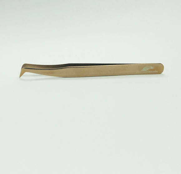ALABA Anti-magnetic Volume Boot Tweezer in Rose Gold