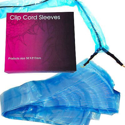 Disposable Clip Cord Sleeves x 125