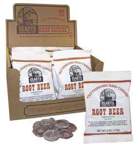 Claeys Old Fashioned Hard Candy - Root Beer