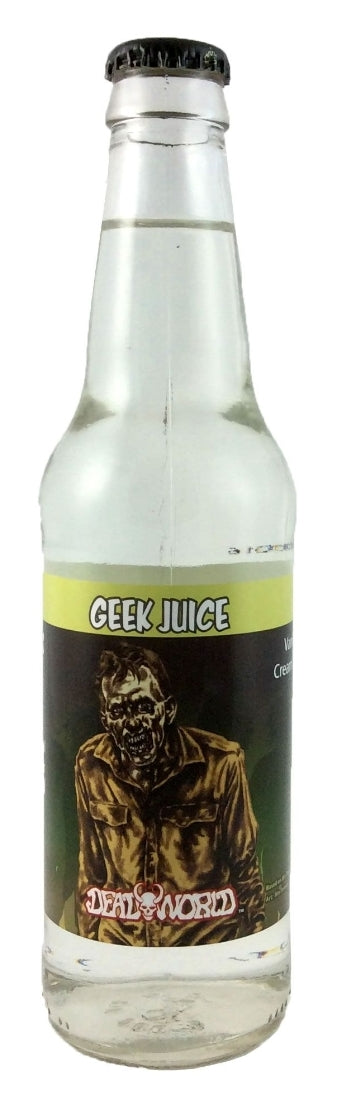 Deadworld Zombie Soda -  Geek Juice (Vanilla Cream Soda)