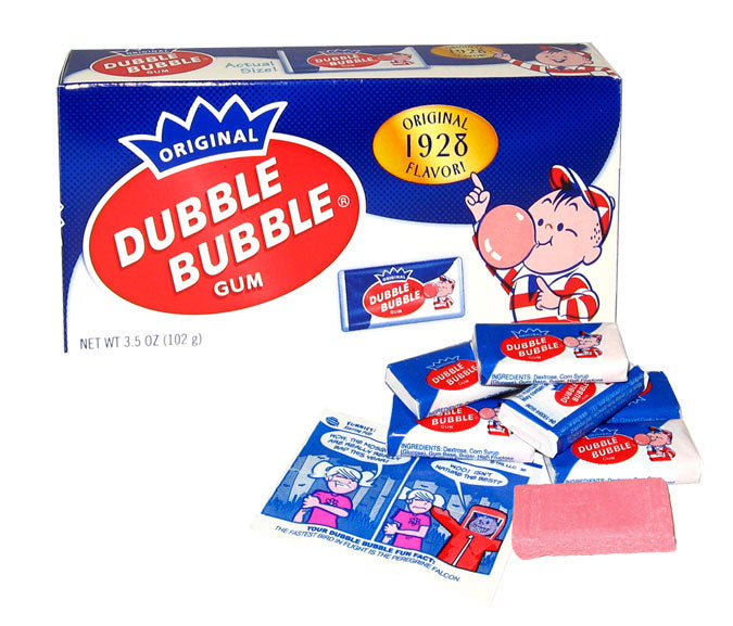 Dubble Bubble 1928 Nostalgic Theater Box*