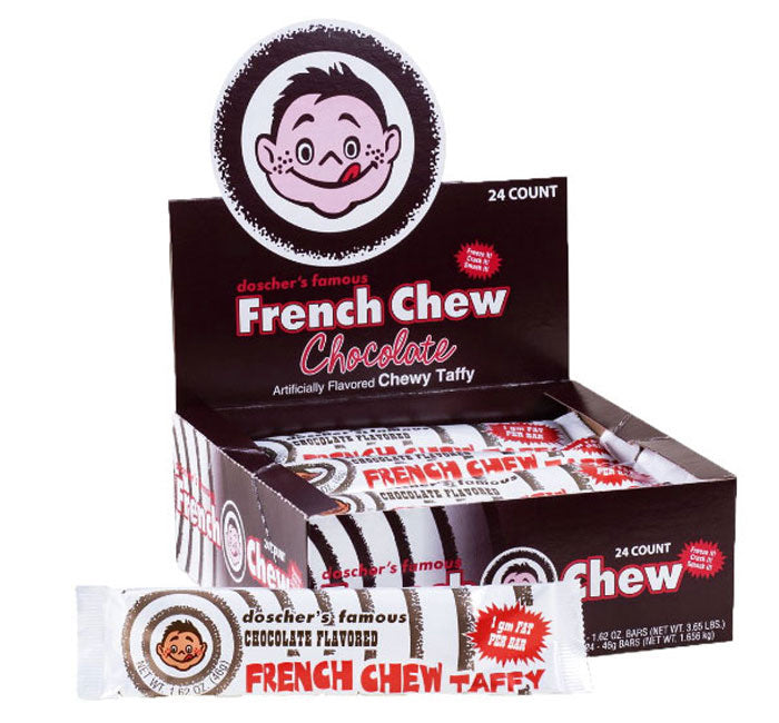 French Chew Taffy - Chocolate