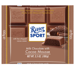 Ritter Sport - Milk W/ Cocoa Mousse