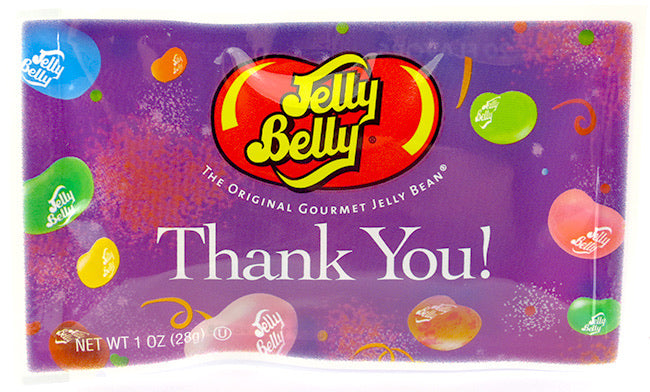 Jelly Belly Thank You! Assortment 1 oz