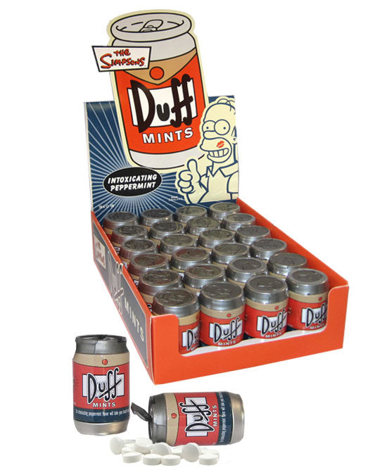 Simpsons Duff Intoxicating Mints Tin
