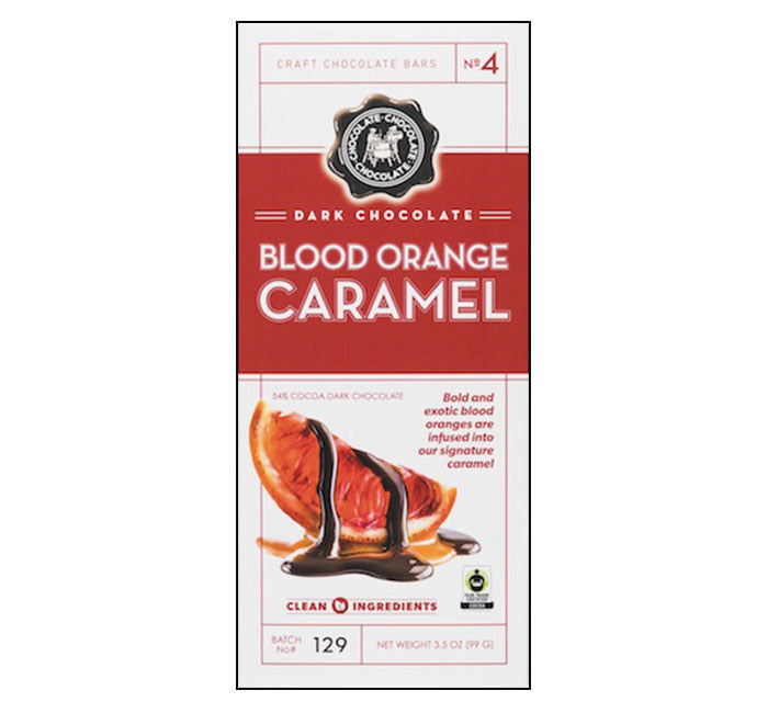 C3 Chocolate Bar - Dark Blood Orange Caramel