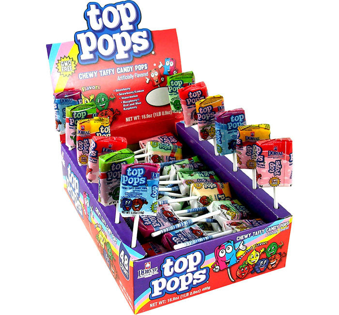 Top Pops Taffy Pops