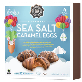 C3 6 Piece Sea Salt Caramel Eggs