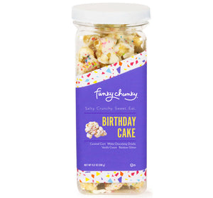 Funky Chunky Canister - Birthday Cake