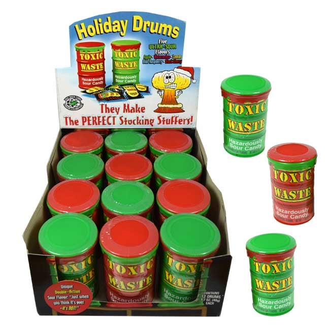 Toxic Waste Holiday Drums (Approx 15 PCS)