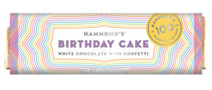 Hammond's Bar Birthday Cake - White