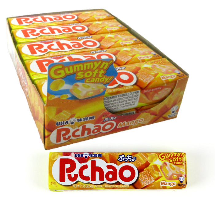 Puchao Chewy Gummy Candy - Mango