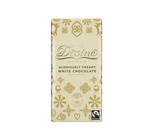 Divine Chocolate Bar - White