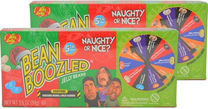 Jelly Belly Bean Boozled Spinner Game - Naughty or Nice Holiday 5th Edition