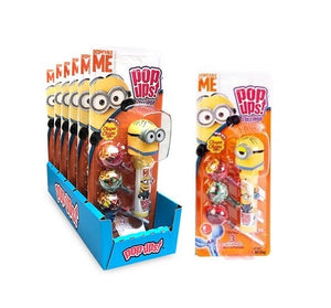 Pop-Ups Sucker Holder Blister Pack - Minions