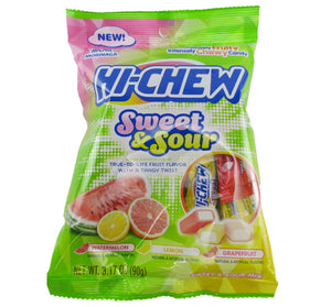 Hi-Chew Sweet & Sour Mix - Grapefruit, Lemon & Watermelon