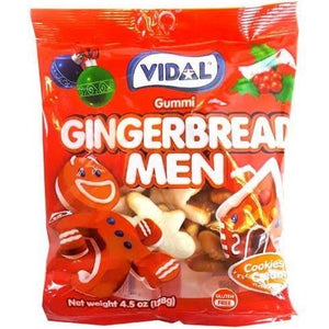 Vidal Gummies - Gingerbread Men