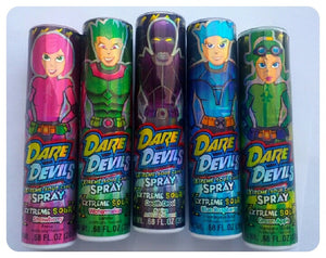 Dare Devil's Extreme Sour Spray Candy