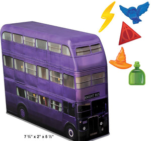Harry Potter Knight Bus Tin Bank W/ Gummi Candy