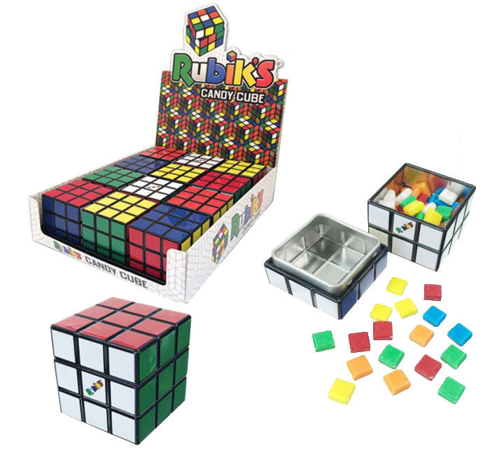 Rubiks Cube Assorted Sours Tin