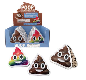 Emoticandy (EMOJI) Poop Vanilla Candy Tin