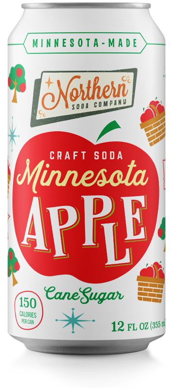 Northern Soda Company Minnesota Apple