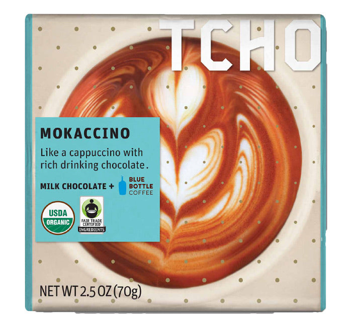 Tcho Chocolate Bar - Mokaccino - Milk Chocolate